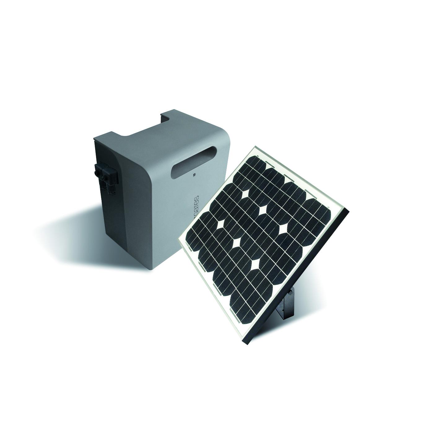 kit solaire complet avec batterie europe automatismes. Black Bedroom Furniture Sets. Home Design Ideas